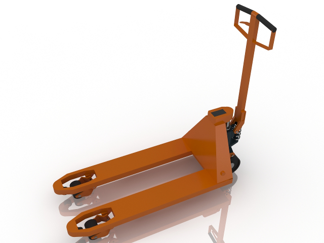 Hand Pallet Truck 3D model