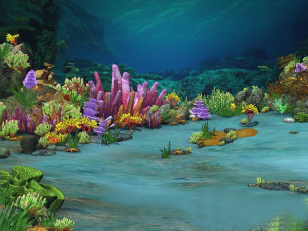 Underwater Ocean 3D model