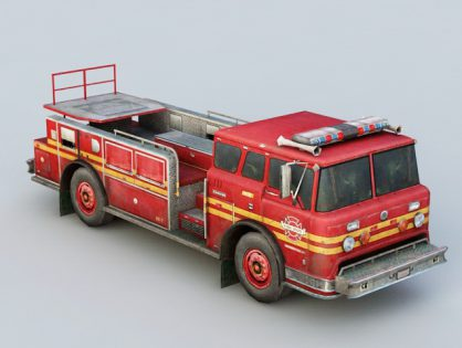Vintage Ford Fire Truck