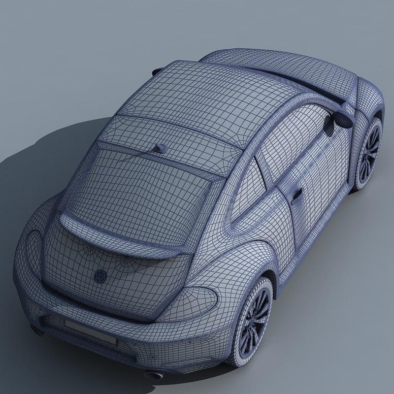 Volkswagen Beetle 3D model