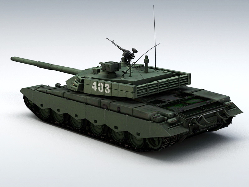 ZTZ99 Tank 3D model