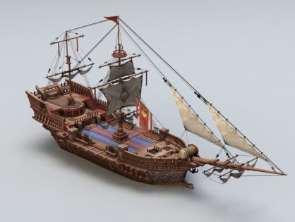 Ancient Sailing Vessel