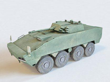 KTO Rosomak 3d model