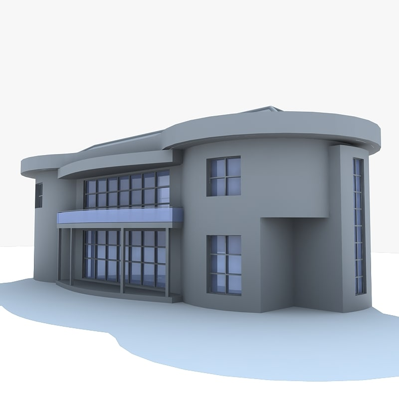 Mansion 3d model