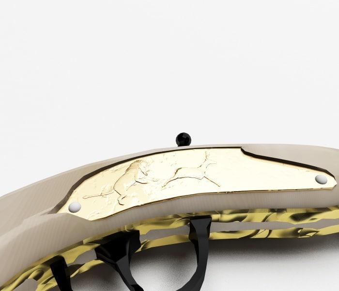 Medieval pistol 3d model
