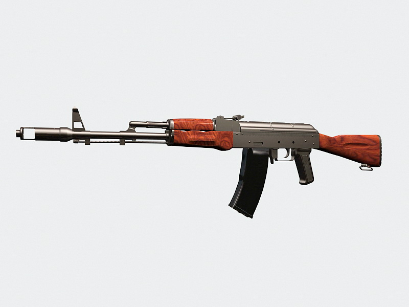 AK-47 Rifle 3D model