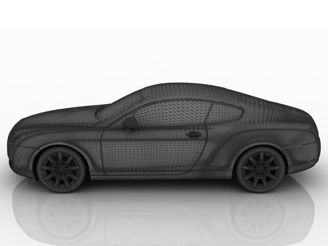 Bentley coupe 3D model