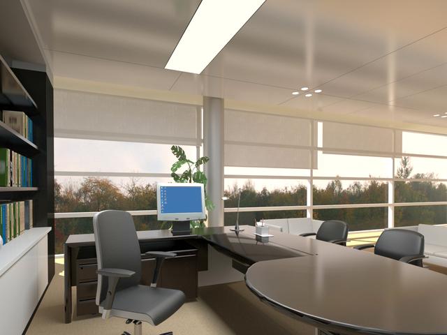 Business office 3D model