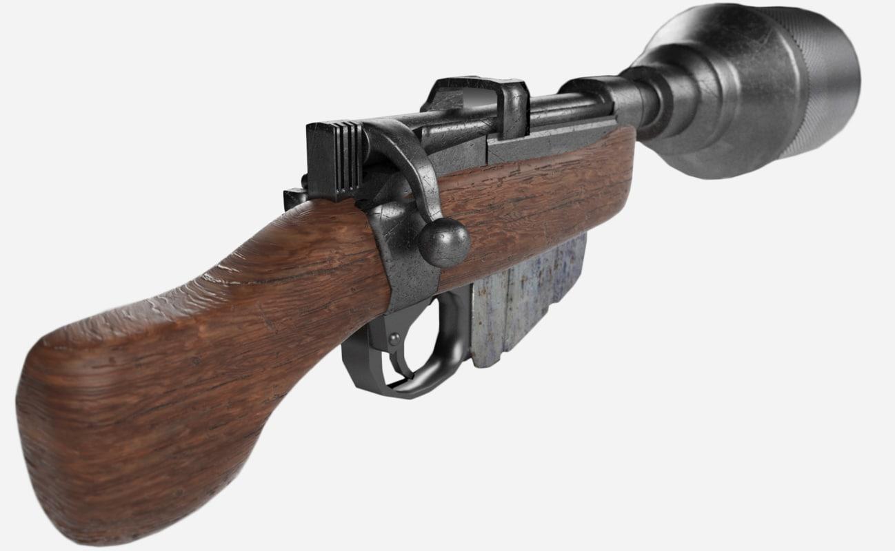 CA-87 Blaster 3D model