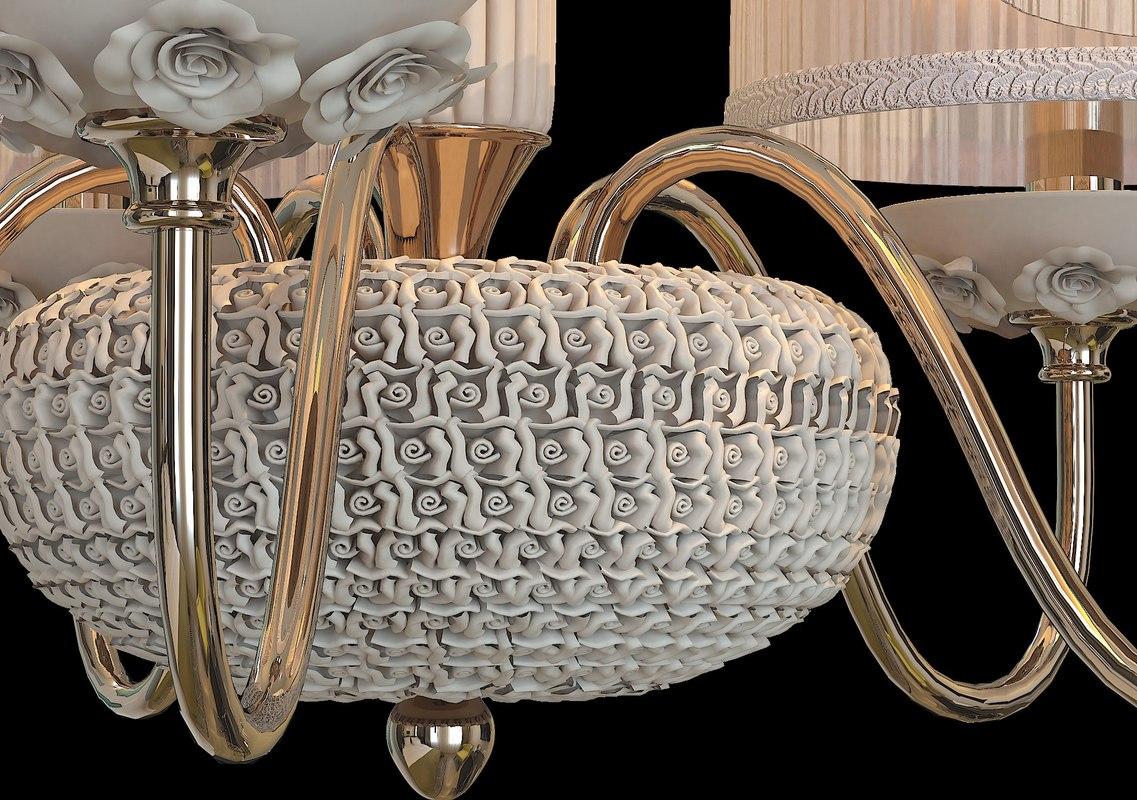 Chandelier Adagio 3D model