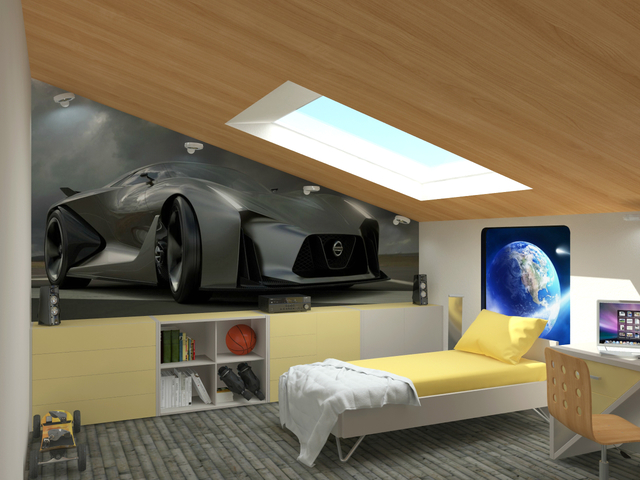 Children's room 3D model