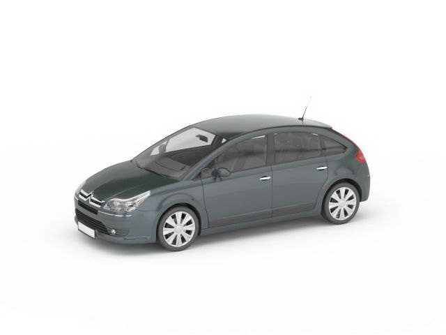 Citroen C4 hatchback 3D model