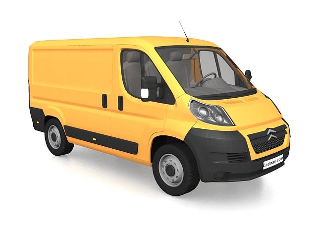 Citroen Jumpy Van 3D model