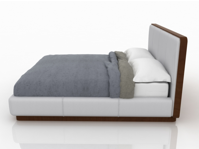 Double bed 3D model