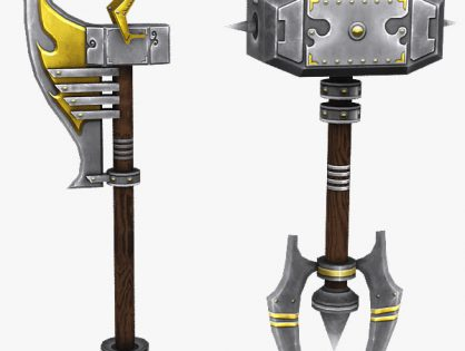 Fantasy melee weapons
