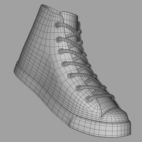 Gumshoes 3D model