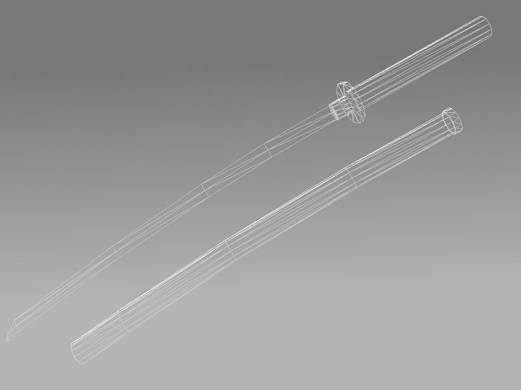 Katana 3D model