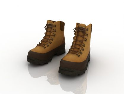Boots 3D models Download for Free