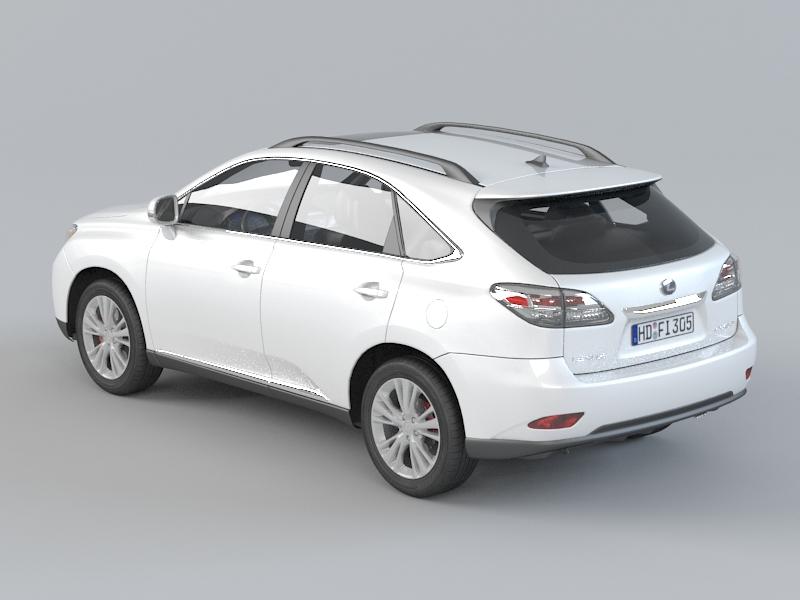 Lexus RX 450H 3D model