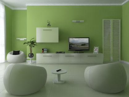 Living room green