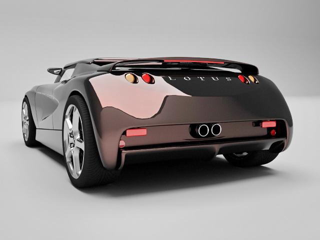 Lotus Evora 3D model