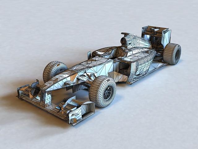 Lotus F1 3D model