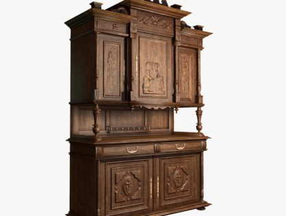 Old classic cabinet