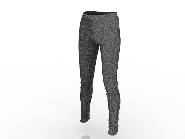 Pants 3D model
