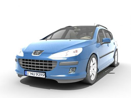 Peugeot 407 station wagon