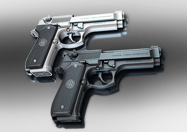 Pietro Beretta Pistols 3D model