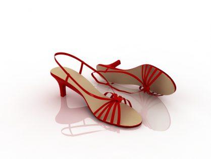 High heels 3D models Download for Free
