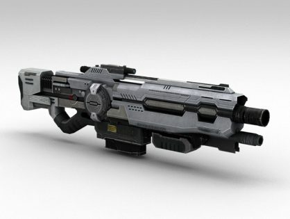 Sci-Fi Assault Rifle
