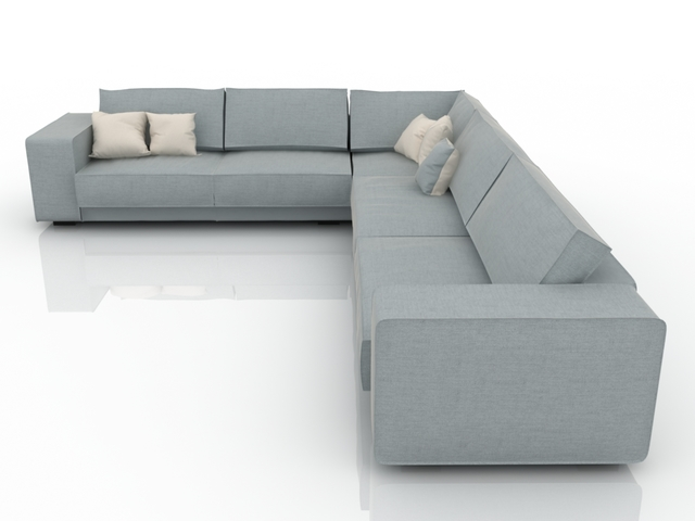 Sofa corner 3D model
