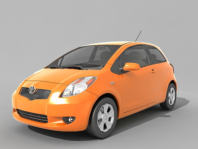 Toyota Yaris hatchback 3D model