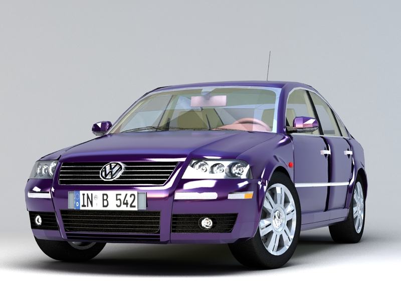 Volkswagen Passat 3D model