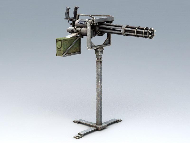 Vulcan Minigun 3D model