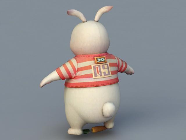 Big bunny 3D model