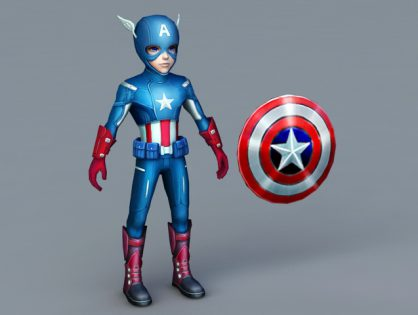 Captain America Cartoon