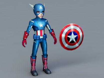 Captain America Cartoon