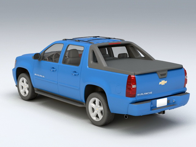 Chevrolet Avalanche 3D model