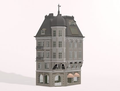 Classic German building