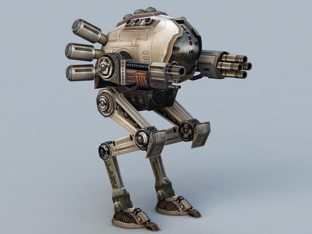 Fantasy Mech Walker 3D model