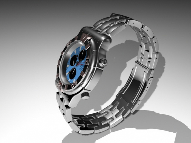 Fashion Sport Watch 3d model