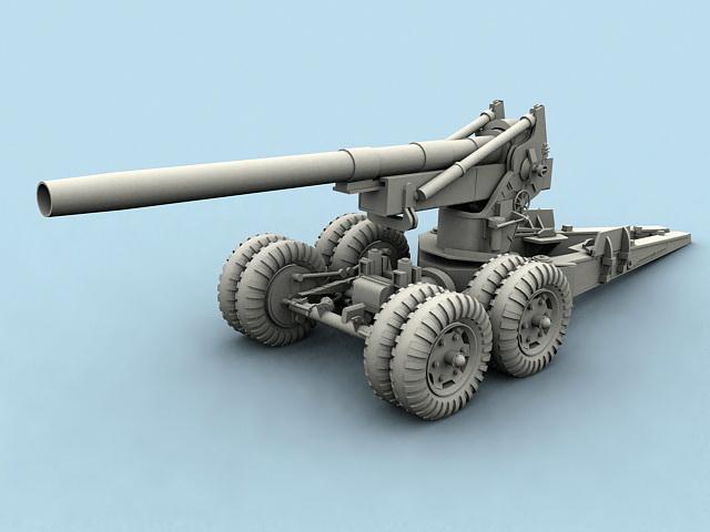 Field Howitzer 3D model