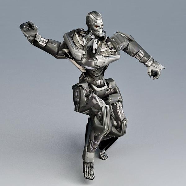 Fighting Robot 3d model