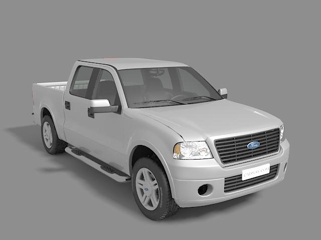 Ford F-150 pickup truck 3D model