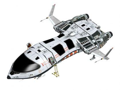 Futuristic Spaceship Concept