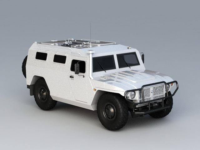 GAZ Tigr 3D model