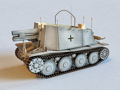 German Grille Artillery