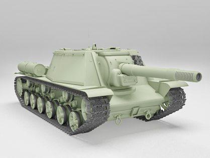 Heavy howitzer SU-152